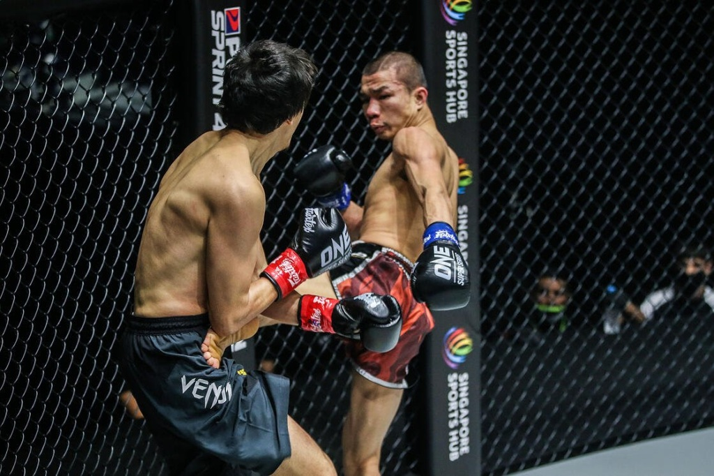 Capitan Petchyindee Academy stopped Alaverdi Ramazanov in the second round of action (ONE Championship)